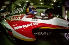 Alessandro Zanardi (ITA) Lotus 107C Mugen-Honda. Formula One Testing, Barcelona, Spain, 13-15 December 1993.